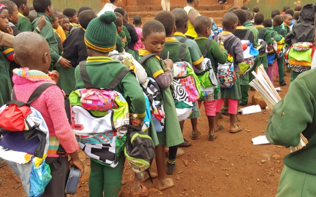 Uzwelo School Bag Handout